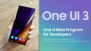 Samsung One UI 3.0 update schedule and supported devices