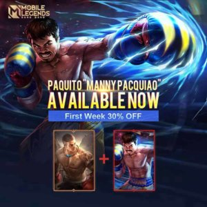 Mobile Legends Manny Pacquiao skin now available with introductory discount